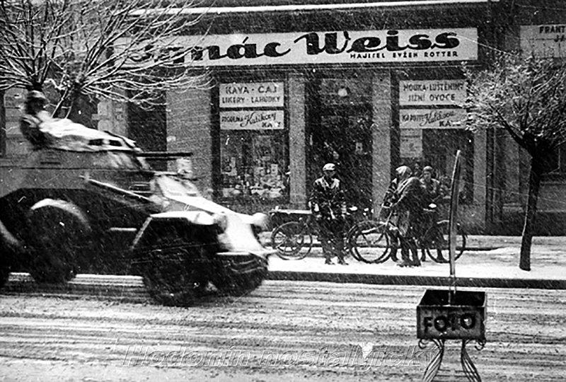 15 Březen 1939 Photo: Hodonín Nostalgický: CSSZ A Knihovna